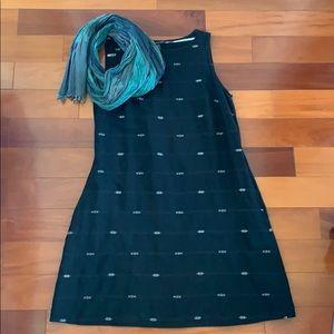 Elieen Fisher Organic Cotton A Line Dress
